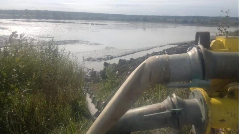 Осушение водоемов. Шапка