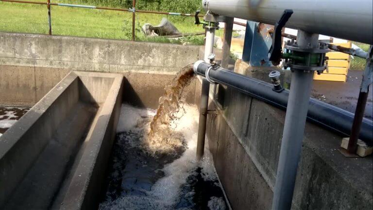 Откачка сточных вод Светогорском ЦБК