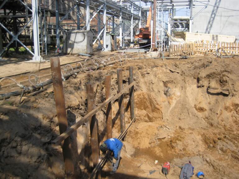 водопонижение на строительной площадке