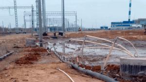 установка водопонижения иглофильтрами
